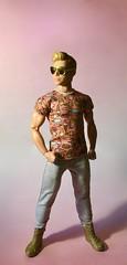 Ice Cream (MaxxieJames) Tags: bastian hunter doll ken barbie fashion fashionista muscular superman ice cream