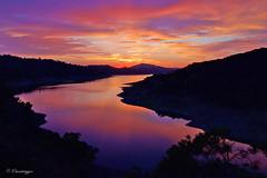 Purple Reflection (Omnitrigger) Tags: morganhill lakeanderson bayarea sunsethunter