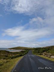 #road #ocean #blue #water #rainy #travel #ireland #wild #westireland (rattle316) Tags: blue ocean wild ireland rainy water road westireland travel
