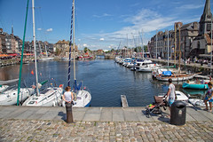 Port de Honfleur, Normandy, France. (tinyschuurmans) Tags: honfleur bassenormandie frankrijk fr