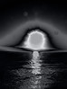 Sunset in Black and White (bethrosengard) Tags: bethrosengard photomanipulation digitallyenhanced photoart digitalmagic digitalart