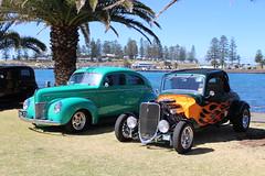 1940 Ford Coupe and 1933 Ford V8 (bri77uk) Tags: kiama rodrun