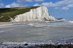 Seven Sisters, East Sussex, UK (rmk2112rmk) Tags: sevensisters eastsussex uk sevensisterscountrypark chalk cliffs englishchannel beach landscape