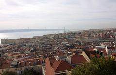 Lizbona widok z zamku 3