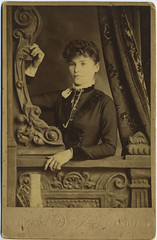 1890 or so - Louisa [Swank] Huff