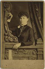 1890 or so - Louisa [Swank] Huff