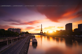 Sunrise to Grenelle at Paris ( France )