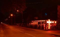 Electric Mud BBQ .... 5 Brock Avenue .... Toronto (Parkdale) Ontario (Greg's Southern Ontario (catching Up Slowly)) Tags: nikon nikond3200 nightphotography brockavenuetoronto 5brockavenue parkdale torontoist electricmudbbq pub urban city citystreet illumination citylights