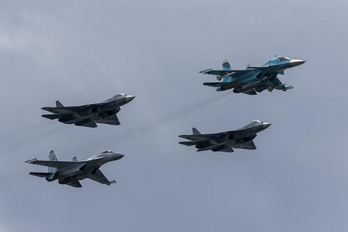 Sukhoi Flypast - 1