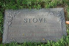 Gravestone - Frederick Herman Stove