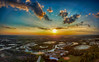 6-image panorama (DonMiller_ToGo) Tags: mavicpro panoimages6 landscape sunset autostitch outdoors skypainter aerial panoramic florida clouds