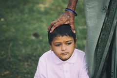 Poovizhi Vasalile (Prabhu B Doss) Tags: prabhubdoss nikon d80 portrait girl kid care taker blessed pensive deep thought people india