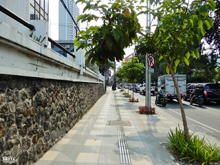 Jalur Pedestrian - Jalan HR. Muhammad (Sisi Selatan)