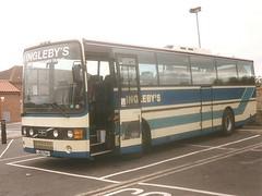 Inglebys J42 PAV (quicksilver coaches) Tags: volvo b10m vanhool alizee inglebys york j42pav pickering