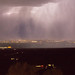 Night thunderstorm over Albuquerque