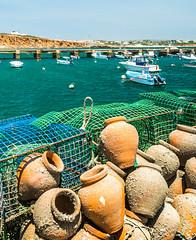 Vieux port de Sagres (touflou) Tags: portugal algarve port bateaux boats fishing pêche amphores sagres filets océans
