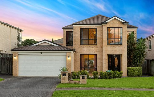 3 Rosebery Road, Kellyville NSW