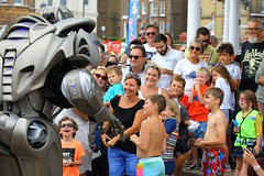 FUNK6407 (Graham Ó Síodhacháin) Tags: broadstairswatergala 2017 broadstairs watergala titantherobot creativecommons