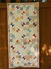 'Gathering' butterfly quilt by Janie 2017 (crazyvictoriana) Tags: modern muslin liberated triangles butterflies quilt batiks solids prints kona traditional neutrals fourpatch