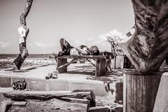beach life (Gerard Koopen) Tags: bali sanur beach beachlife bw blackandwhite blackandwhiteonly straat street straatfotografie streetphotography candid streetmagazine fujifilm fuji x100t 2017 gerardkoopen
