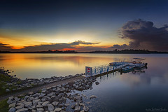 PARAGON (ChieFer Teodoro) Tags: canon 6d 1635mm gitzo gt2541 arca swiss z1 lee filter landscape polariser neutral density graduated sunset singapore upper seletar reservoir phoenix