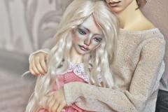 Anna and Hawke (AnMoony) Tags: bjd bjdoll doll custom zaoll luv dreaming
