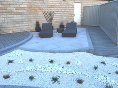Kitchen extension and landscaping