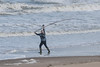 Lonely sea anger with fishing rod (CapMarcel) Tags: lonely sea anger with fishing rod throwing towards