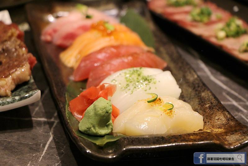 原月日式頂級帝王蟹吃到飽板橋燒烤吃087