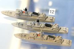 1:2000 scale models of the corvettes Niels Juel, Peter Tordenskjold and Olfert Fischer at Springeren Maritimt oplevelsescenter, 16. september 2017. Foto: Per Ryolf (perryolf) Tags: fotoperryolf aalborg springerenmaritimtoplevelsescenter ubåd mtb torpedobåd ship ships schiff schiffe skibe skib marinemuseum