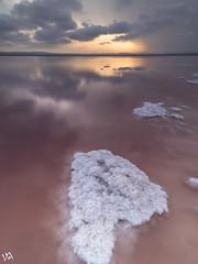 Sal (:) vicky) Tags: spain sol sal sunset nubes clouds agua water olympus vickyepla visionario comunidadvalenciana alicante torrevieja lagunasdelamata