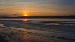 Estuary Sunset (warth man) Tags: d750 nikon24mmf14g arnside englishlakedistrict southlakeland estuary