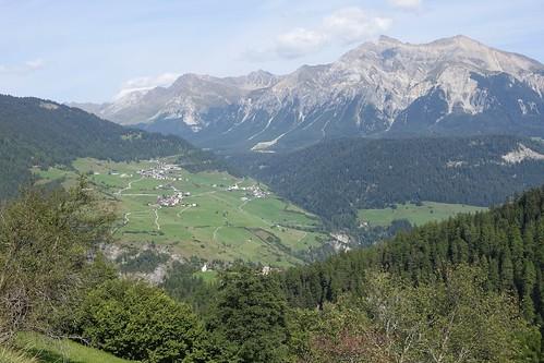 across the Albulatal