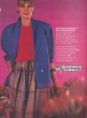 Strawbridge and Clothier ad (tehshadowbat) Tags: philadelphiaretailshoppingstores philadelphia philadelphiashopping departmentstore 1980sfashion 1980s strawbridgeclothier