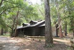 Lodge building built by the CCC in the 1930s 0231 (Tangled Bank) Tags: oleno state park columbia county florida o leno wild nature natural santa fe river woods lodge building built by ccc 1930s 0231 history historical