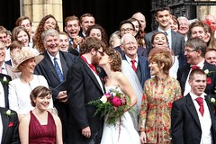 A York Minster Wedding (SteveH1972) Tags: york minster yorkminster northernengland england wedding beautiful 2017 city outside outdoor outdoors people person women bride gorgeous specialday cathedral men man group happy