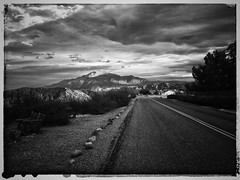 (BurstsofSingleMindedness) Tags: landscape banning banningca california bw inlandempire