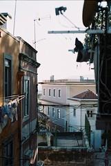 F1000014 (saracarodrigues) Tags: pentax spotmatic asahipentaxspotmatic fujicolor200 setubal portugal 1stroll experience street houses