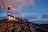 Landego lighthouse under midnight sun (Joao de Barros) Tags: barros joão norway landego lighthouse