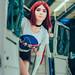 Starfire (Estelar)   TEEN TITANS cos Geek Fusion