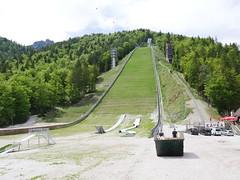Planica ski jump!