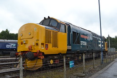 Direct Rail Services 37424 Avro Vulcan XH558 (Will Swain) Tags: carlisle kingmoor depot open day 22nd july 2017 drs north west train trains rail railway railways transport travel uk britain vehicle vehicles country england english cumbria direct services 37424 avro vulcan xh558 37558 558 424 class 37