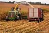Harvesting Earlage (Thomas DeHoff) Tags: corn harvest earlage iowa john deere sony a700