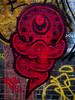 The Real Dill (Steve Taylor (Photography)) Tags: realdill cyclops ghost eye art graffiti mural streetart tag black red yellow spooky frightening eerie creepy scary weird strange uk gb england greatbritain unitedkingdom london