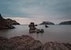 Arnía beach, Santander, Spain (Helena G.H) Tags: long exposure night santander arnía cantabria spain landscape relax magical sea beach