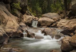 Colorado Cascades - St. Vrain Creek - Roosevelt National Forest, Colorado