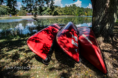Red Canoes (jah32) Tags: canada canadianhistory canadian red cmwdred canoes canoe springwaterconservationarea springwater aylmer ontario water summer summertime colour color