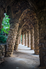 DSC1014 (Mypoorbrain) Tags: barcelona cataluna españa geo:lat=4141493597 geo:lon=215361623 geotagged lasalut esp architecture history ancient old arch stonematerial tunnel europe cultures famousplace travel street outdoors builtstructure wallbuildingfeature medieval tourism corridor town spain parkgüell