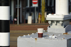 The Coffeebreak (Alfred Grupstra) Tags: industry constructionindustry outdoors factory equipment pipetube garbage nopeople amsterdam coffee bridge