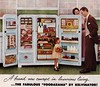 Kelvinator circa 1955 (barbiescanner) Tags: vintage retro fashion design 50s 50sads 1950s 1950sads houseandgarden kelvinator refrigerator